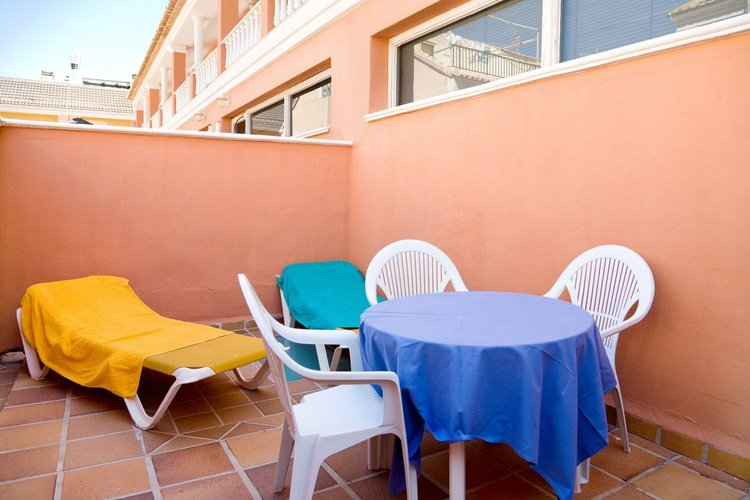Terrace lloyds beach club aparthotel torrevieja, alicante